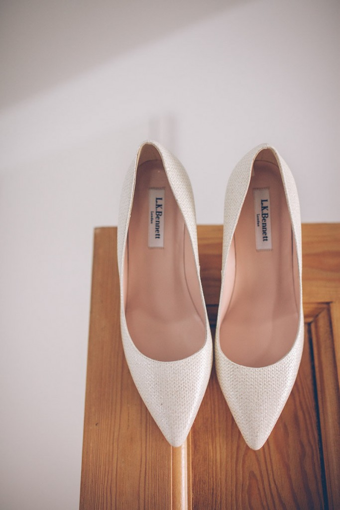 LK Bennett wedding shoes