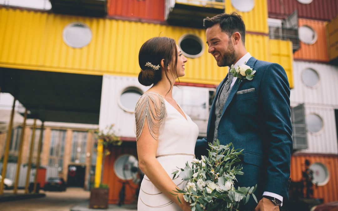 Claudia + Adrian // Trinity Buoy Wharf
