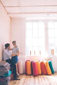 Couple in Bussey building dance studio
