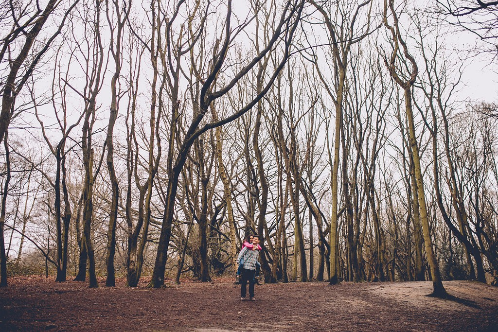 Engagement shoot hampstead heath