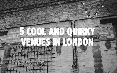 5 cool and quirky London venues
