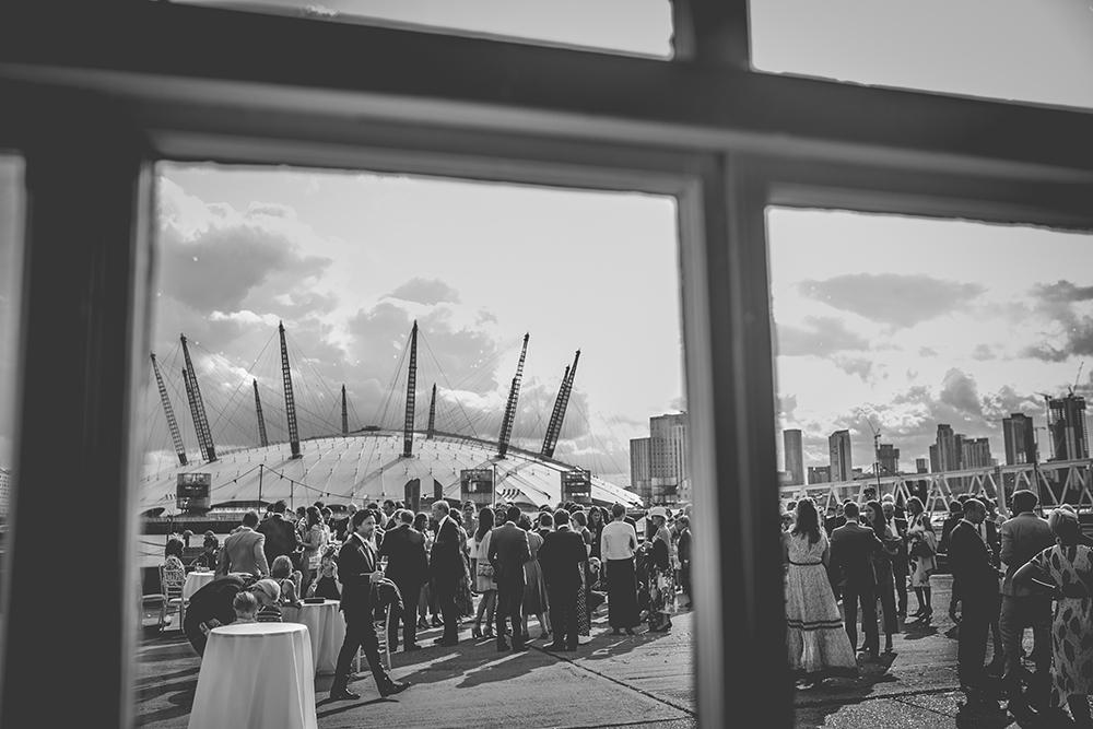 trinity buoy wharf urban wedding