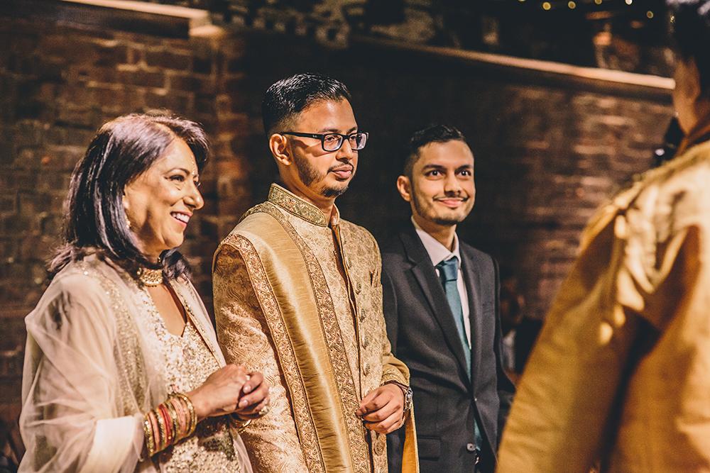groom trinity buoy wharf indian wedding