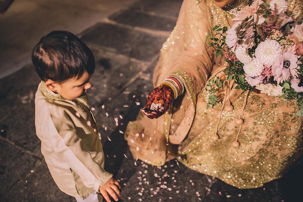 confetti trinity buoy wharf indian wedding