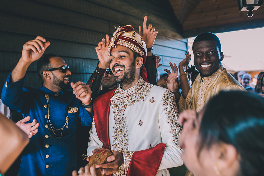 vara yatra micklefield hall multicultural wedding