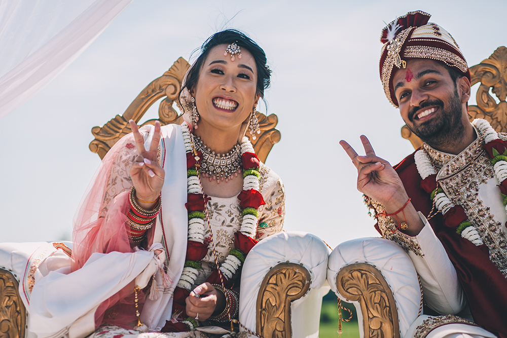 indian ceremony micklefield hall multicultural wedding