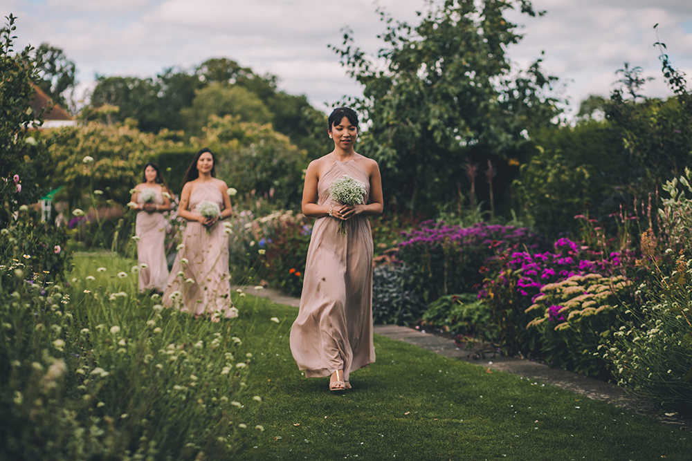 bridesmaids micklefield hall multicultural wedding