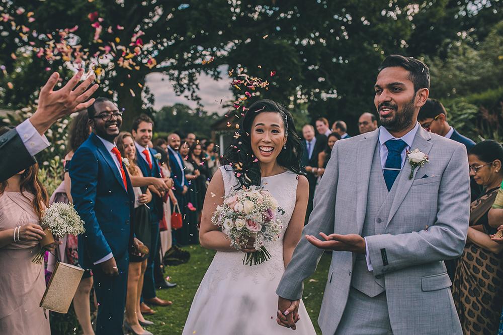 confetti line micklefield hall multicultural wedding