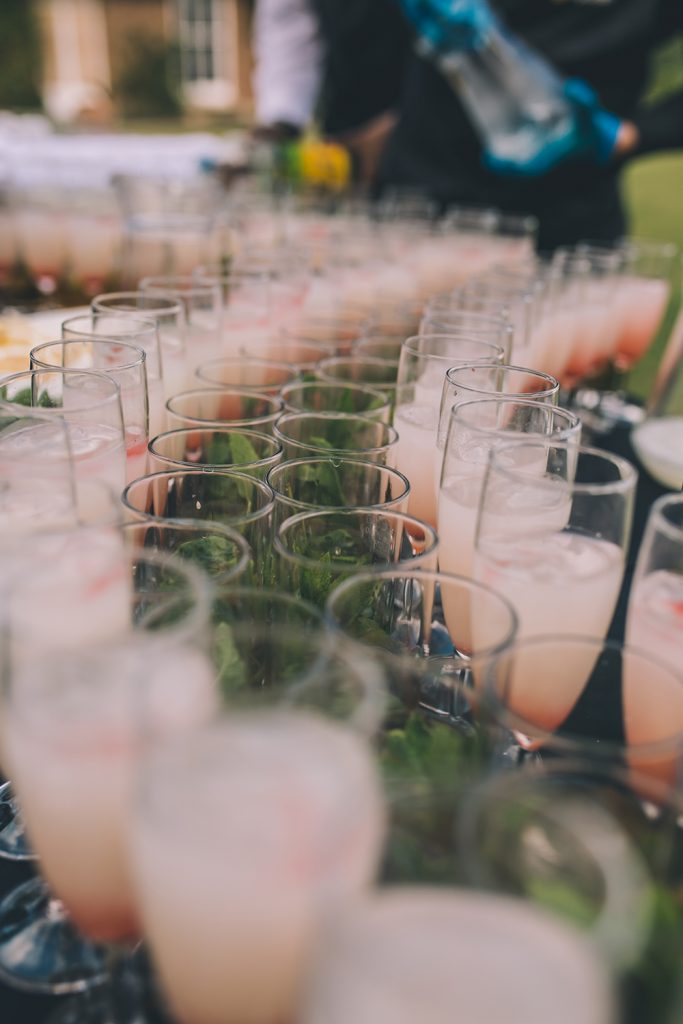 drinks micklefield hall multicultural wedding