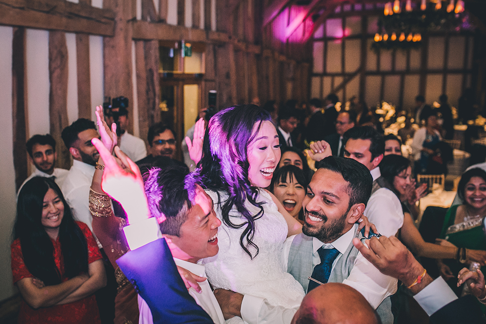 dancing micklefield hall multicultural wedding