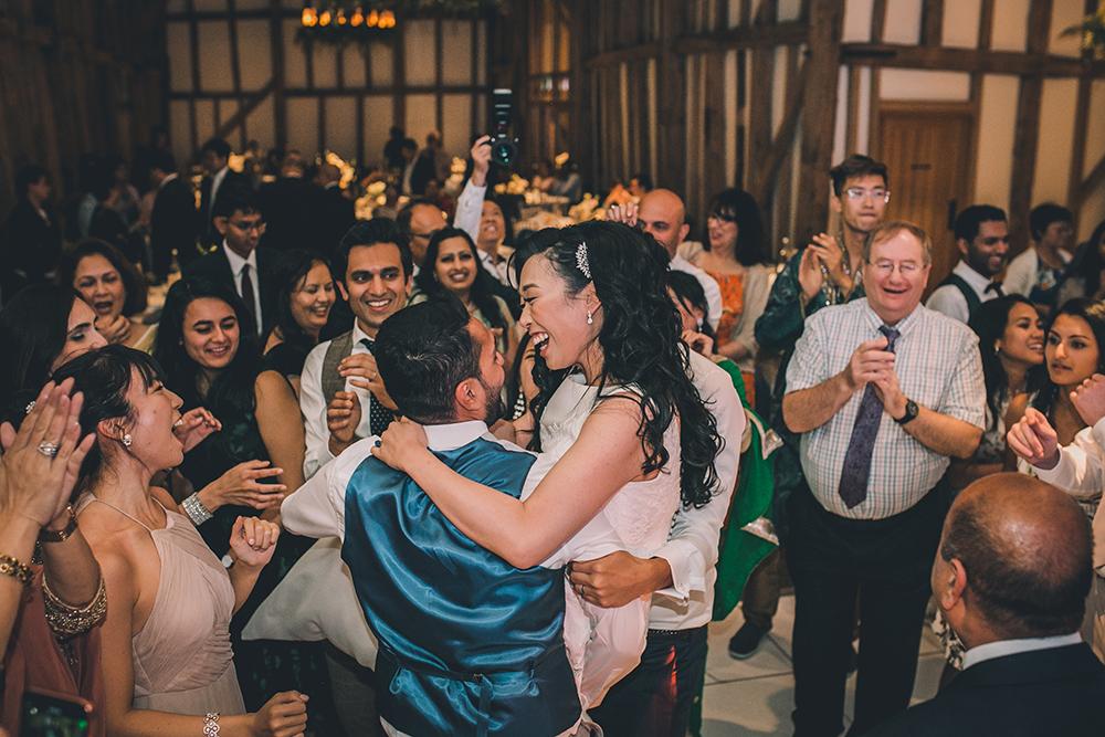 dancing micklefield hall multicultural wedding