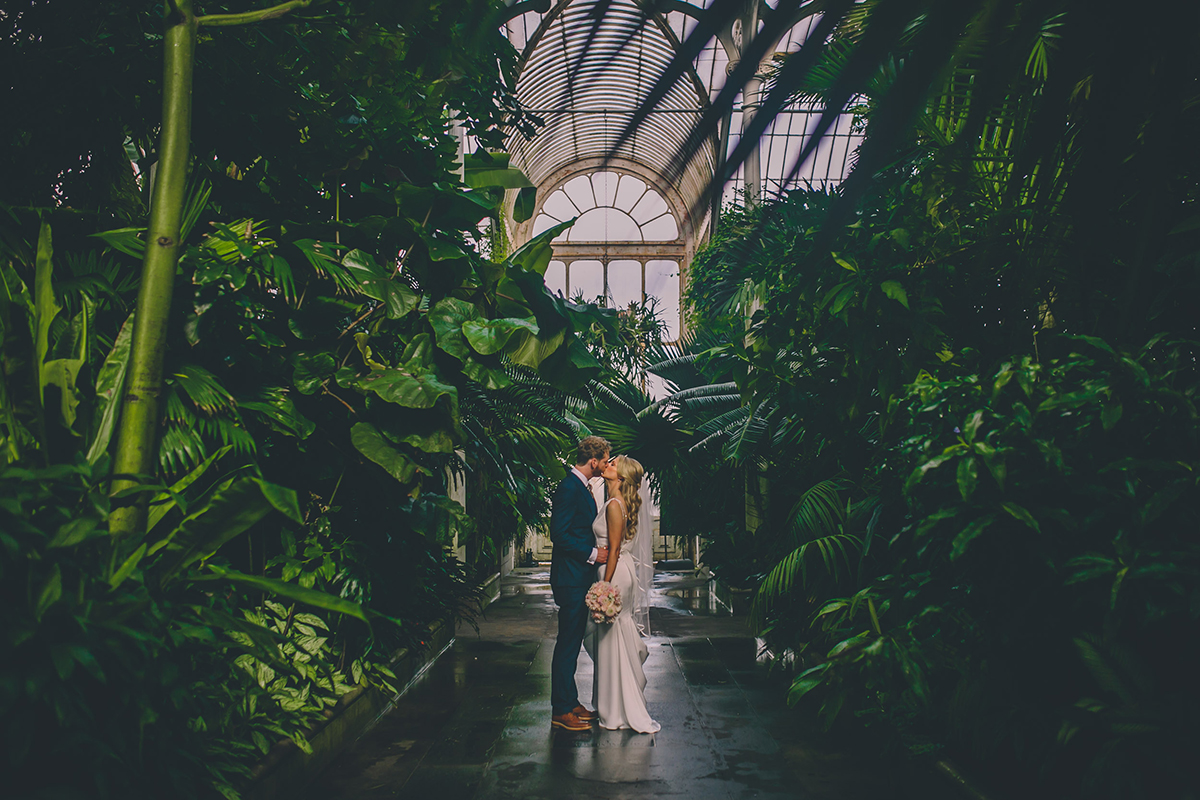 kew gardens portrait wedding photography