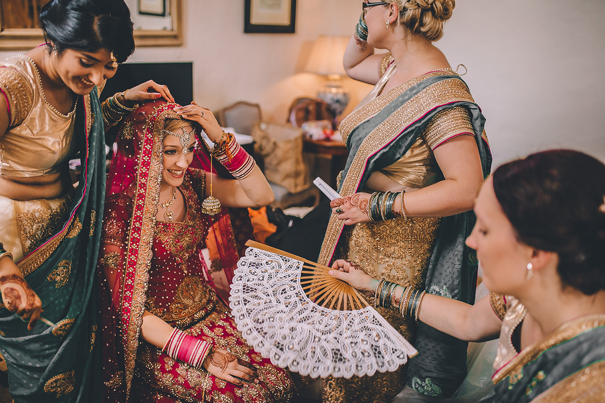 indian bride wedding photography