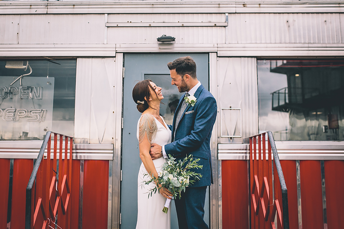 portrait trinity buoy wharf wedding photographer