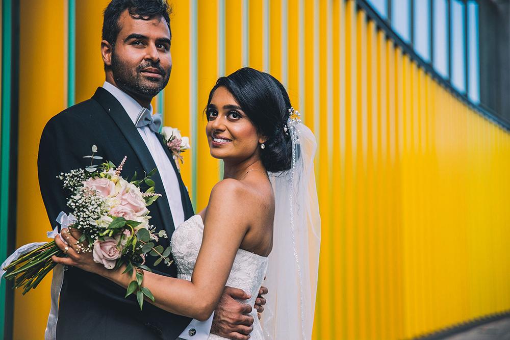 couple portrait camden lockdown wedding